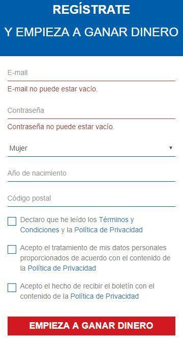 Como registrarse SurveyLikes ▷ SurveyLikes ✅ 10 Paneles en 1 Única web |2.5€ Gratis| Encuestas