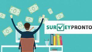 surveypronto logo 🥇 Gana Dinero con Encuestas Pagadas Online 🔥 GRATIS 🔥