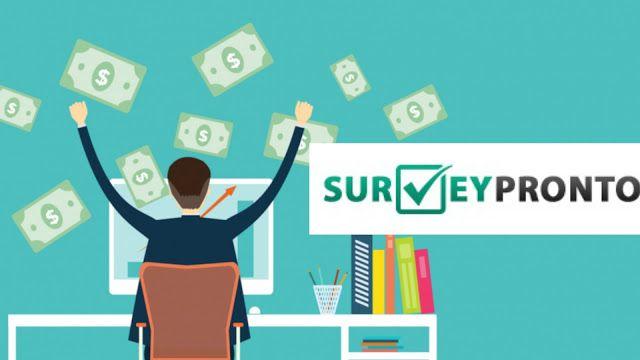 surveypronto logo Como Ganar Dinero por Internet en Perú Las Mejores Formas de Ganar Dinero