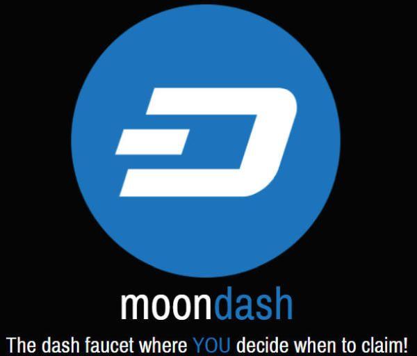 MoonDash ▷ Gana Dash Gratis Pulsando un Botón | Faucet |