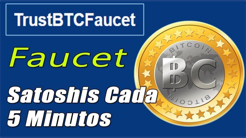 Trustbtcfaucet logo ▷ Como Ganar 136.875 Satoshis al año con TrustBtCFaucet | Tutorial | Ganar Criptomonedas Gratis