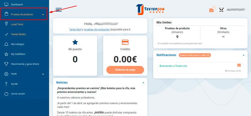 TesterJob ¡La alternativa de ser un probador de productos de Amazon sin invitación!