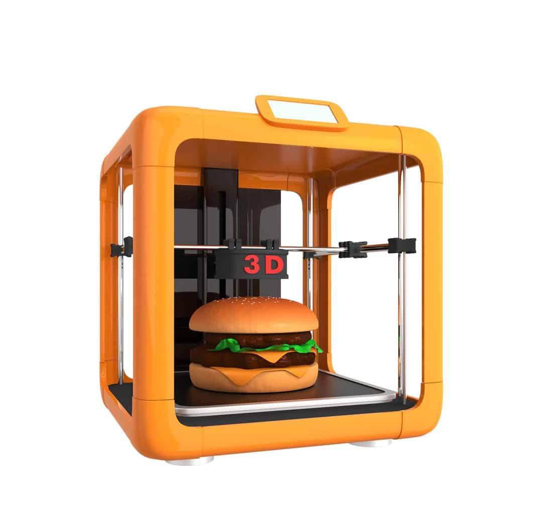 Comida impresa en 3D editada Gane dinero con una impresora 3D [Guía completa para principiantes]