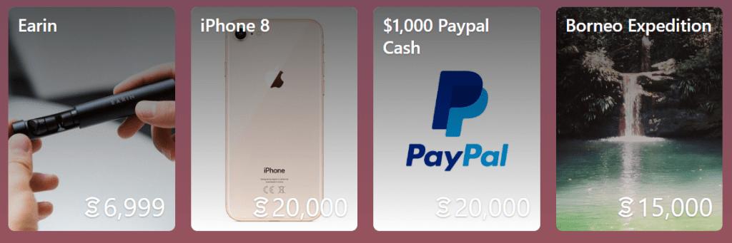 Sweatcoin-milestone-rewards