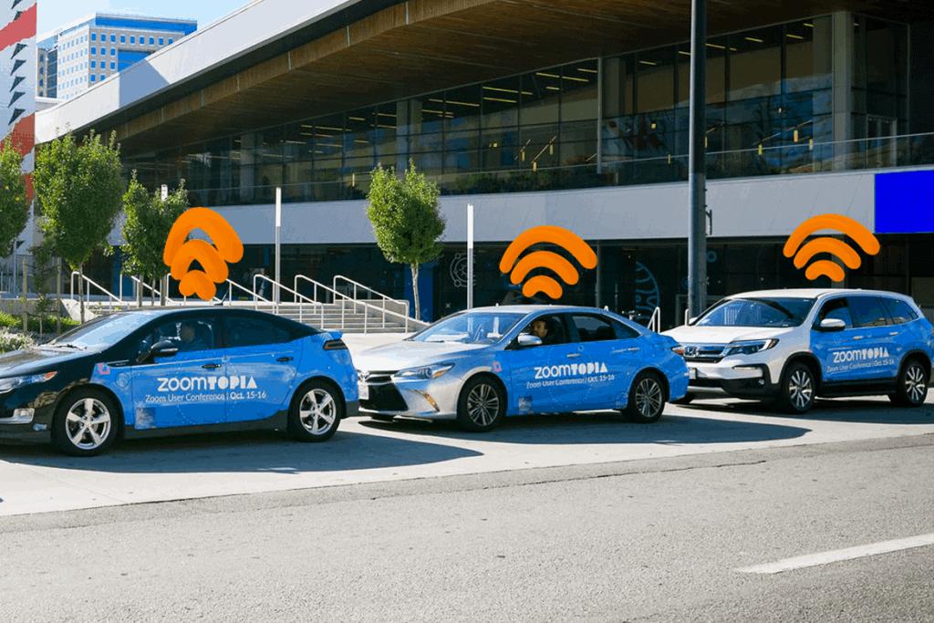 Ejemplo de cómo ganar dinero comercializando para empresas en automóviles