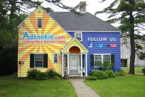 ejemplo de cómo ganar dinero publicitando casas