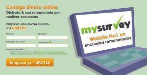 Como 2Bregistrarse 2Bmysurvey 🥇 Gana Dinero con Encuestas Pagadas Online 🔥 GRATIS 🔥