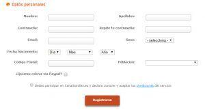 CanalSondeo-1€ por Encuesta para PayPal Simple, Fácil, Rápido