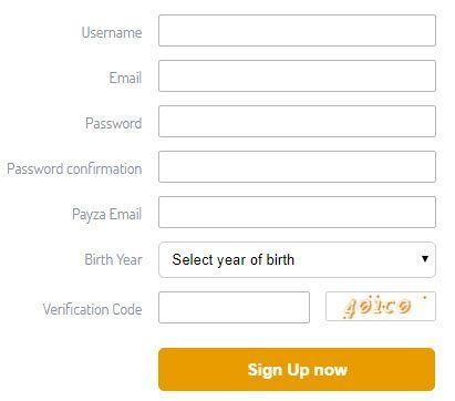 Formulario registro DifBux