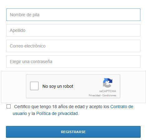formulario de registro Coinbase-¿Que es y como funciona?2021 Procesadores